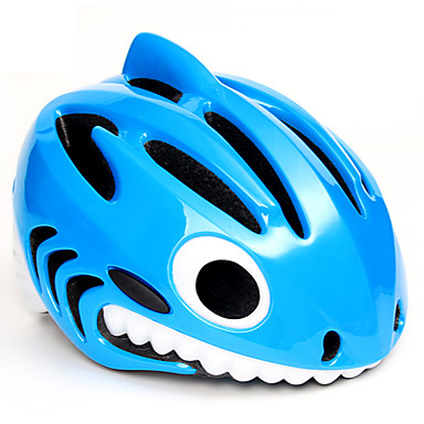 billige Hjelmer-MOON Barne sykkelhjelm 23 Ventiler Integrert støpt Ventilasjon Insektnett ESP+PC sport Sykling / Sykkel - Rød Blå Rosa Gutt Jente