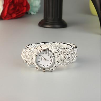 baratos Relógios Senhora-FEIS Mulheres Bracele Relógio Fashion Prata Lega Quartzo Prata Criativo 1 Pça. Analógico-Digital