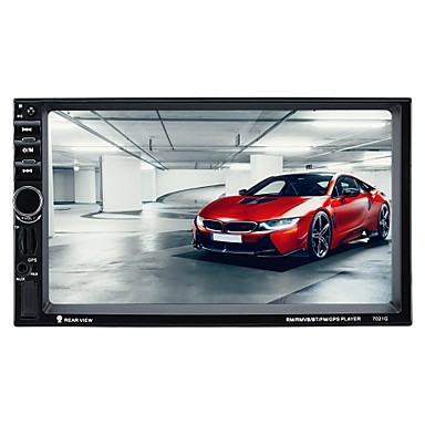 رخيصةأون مشغلات DVD السيارة-7021G 7 بوصة 2 Din سيمبيان سيارة مشغل الوسائط المتعددة / سيارة لتحديد المواقع المستكشف GPS / شاشة لمس / بلوتوث مبنية إلى VGA الدعم RM / RMVB / MP4 MP3 / OGG JPEG