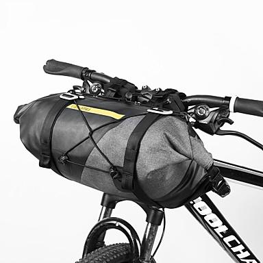 abordables Sacoches de Vélo-14-15 L Imperméable Sacoche de Guidon de Vélo Etanche Cyclisme Vestimentaire Sac de Vélo Tissu étanche Ripstop 600D Sac de Cyclisme Sacoche de Vélo Cyclisme Activités Extérieures Trottinette