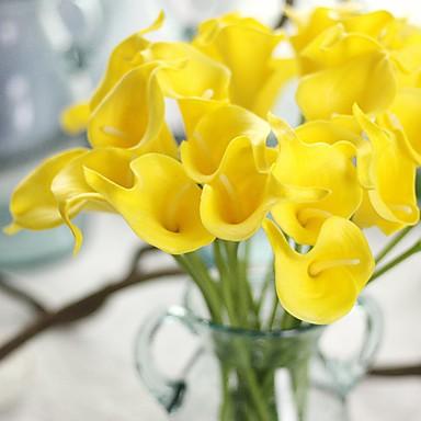 Keinotekoinen Flowers 1 haara Klassinen Näyttämötarpeet Häät Kalla Eternal Flowers Pöytäkukka