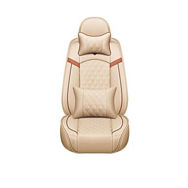 voordelige Auto-interieur accessoires-Auto-stoelhoezen Hoofdsteun en taille kussensets Oranje / Beige / Koffie Geweven stof / Imitatieleer / Katoen Zakelijk Voor Universeel / GM