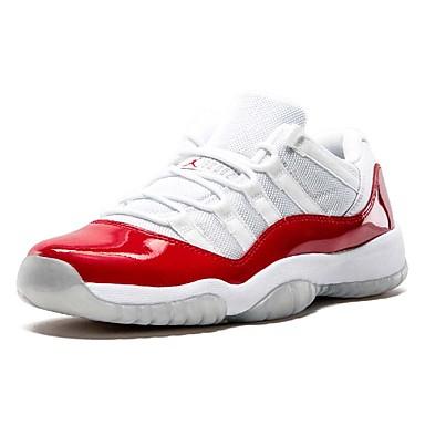Hombre Zapatos Confort Cuero Sintético Primavera verano Zapatillas de Atletismo Baloncesto Rojo / Deportivo
