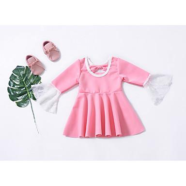 70d04ccde88 Precio · Liquidación · Liquidación · abordables Vestidos de Niña-Niños  Chica Activo   Estilo lindo Un Color Lazo   Ajuste