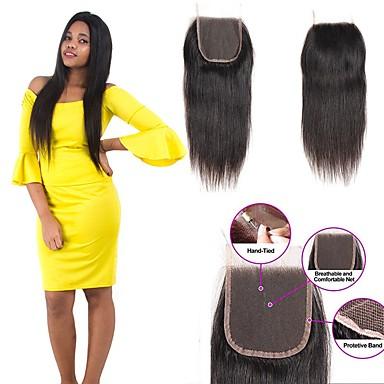 1 paketti Brasilialainen Suora Remy-hius Hiukset kutoo Bundle Hair Aitohiuspidennykset 8-20inch Luonnollinen väri Hiukset kutoo Vastasyntynyt Vesiputous Cute Hiukset Extensions Naisten