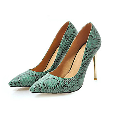 beaba4adc1f61 Women's Suede / PU(Polyurethane) Spring & Fall Heels Stiletto Heel Pointed  Toe Yellow