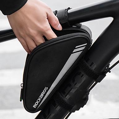 1b7c0cc352 Χαμηλού Κόστους Τσάντες Ποδηλάτου-ROCKBROS 0.7 L Τσάντα για σέλα ποδηλάτου  Αδιάβροχη Φορητό Ποδηλασία Τσάντα