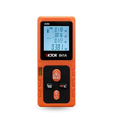 voordelige Test-, meet- & inspectieapparatuur-victor vc841a 40 m laser-mistemeter automatische uitschakeling / handheld / display met achtergrondverlichting voor technische metingen / voor bouwconstructie / voor buitenmeting