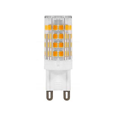 billige Elpærer-1pc 5 W LED-lamper med G-sokkel 420 lm G9 T 52 LED perler SMD 2835 Dekorativ Varm hvit 220 V 110 V