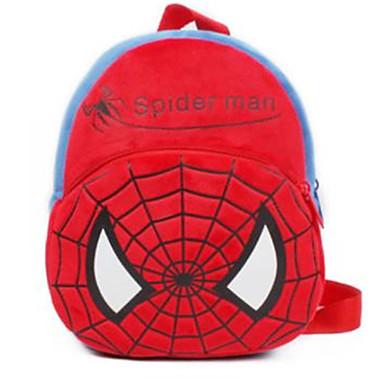 رخيصةأون حقائب أطفال-للصبيان حقائب الاطفال مخمل شخصية أحمر