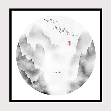 abordables Toiles-Imprimé Impressions sur toile roulées - Paysage Classique Art Prints