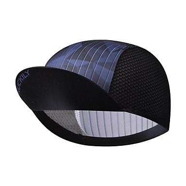 Nuckily Pyöräilylippis visiirit Geometrinen UV-vastustuskykyinen Hengittävä Nopea kuivuminen Hikeä siirtävä Pyörä / Pyöräily Musta Spandex varten Miesten Naisten Teini Aikuisten Maantiepyör