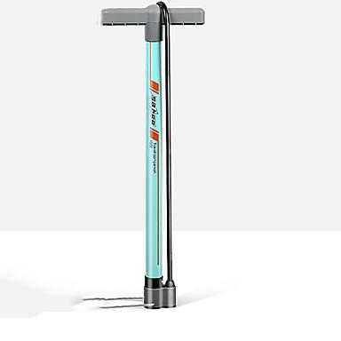 billige Sykkeltilbehør-SAHOO Fotpumpe til sykkel Bærbar Lettvekt Holdbar Høytrykk Presis oppblåsning Til Vei Sykkel Fjellsykkel Sykling Aluminium Svart Grønn Blå