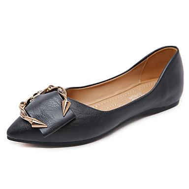 2d1ee7be8a baratos Sapatos Femininos-Mulheres Microfibra Primavera Verão Casual Rasos  Caminhada Sem Salto Dedo Apontado Presilha
