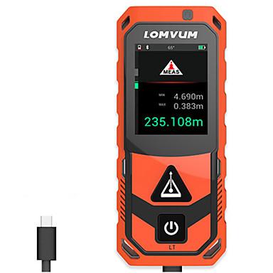 voordelige Waterpasinstrumenten-lomvum® nieuwe aankomst bluetooth usb laser afstandmeters digitale laser afstand 200 m meter afstand batterij-aangedreven measurer laser