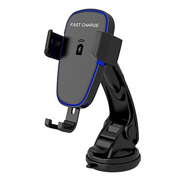 voordelige Automatisch Electronica-draadloze oplader voor op de auto, automatische opspanning qi snellaadstation voor auto, voorruit dashboard luchtrooster telefoonhouder