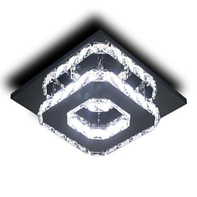 Монтаж заподлицо Электропокрытие Металл Лампочки включены, LED 110-120Вольт / 220-240Вольт Лампочки включены / Интегрированный светодиод