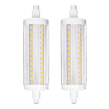 YWXLIGHT® 2pcs 10 W LED-maissilamput 900 lm R7S 72 LED-helmet SMD 2835 Himmennettävissä Neutraali valkoinen 200-240 V
