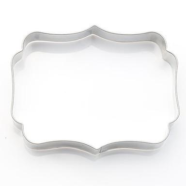 2pcs Ruostumaton teräs Creative Kitchen Gadget Uutuusvälineet keittiöön jälkiruoka Työkalut Bakeware-työkalut