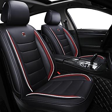 voordelige Auto-interieur accessoires-zakelijke voorzijde achter universele auto stoelhoezen kussen kits luxe schattige voertuigen accessoires voor universele / polyester / kunstleer / katoen