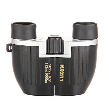 billige Kikkerter og teleskop-LUXUN® 10 X 22 mm Kikkerter Objektiver Vanntett Høy definisjon Anti-Skli BAK4 Jakt Oppvisning Dagligdags Brug Spectralite PP+ABS / Fuglekikking