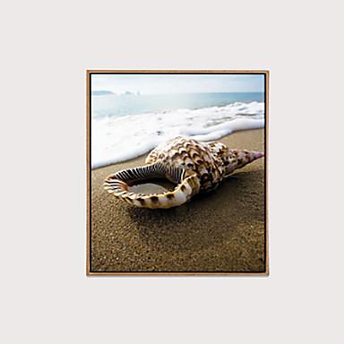 Kehystetty kanvaasi Kehystetty öljymaalaus - Eläimet Asetelma Muovi Öljymaalaus Wall Art