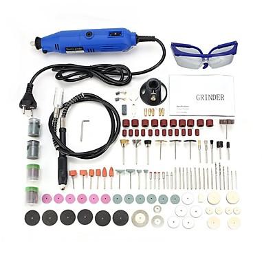 130W Engraving Pen Electric Drill Kits Sähköpora Sähköhiomakone Sähköinen kaiverrus kynä Käsintehty / Korkean suorituskyvyn / Sähköinen liike Kotitalouden purkaminen / Poraus / Kiillotettu