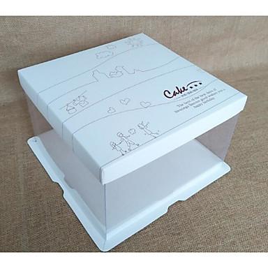 abordables Support de Cadeaux pour Invités-Rectangulaire Papier carton Titulaire de Faveur avec Motif / Impression Boîtes à cadeaux / Bocaux à Bonbons et Bouteilles / Boîte de rangement - 1pc