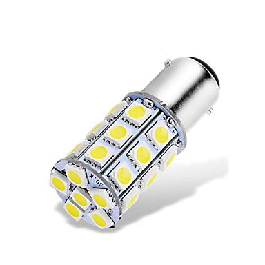 preiswerte Bremslichter-1 stücke ba15d 1142 1076 1176 led auto glühbirnen 12-24 v 5050 27 smd weiß für rückfahrscheinwerfer bremslichter rücklichter