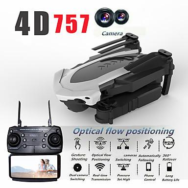 povoljno Dronovi i RC-RC Dron s17 RTF 4 Kanala 6 OS 2.4G S HD kamerom 5.0MP 1080P RC quadcopter FPV / Izravna Kontrola / Pristup U Stvarnom Vremenu Snimke RC Quadcopter / Daljinski Upravljač / Kamera / 110 Stupanj