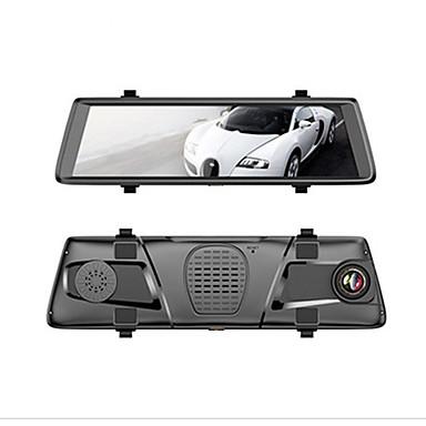abordables DVR de Voiture-Factory OEM V6 1080p DVR de voiture 150 Degrés Grand angle 10 pouce IPS Dash Cam avec Wi-Fi / GPS / Télécommande Enregistreur de voiture