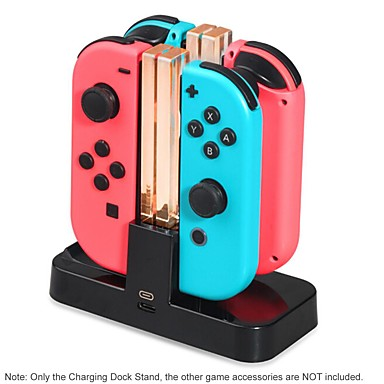 povoljno Nintendo Switch Accessories-vodio punjenje dock za nintendo switch radost-con za pro kontroler