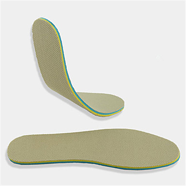 baratos Palmilhas-6 Pairs Esporte Palmilhas e Calcanhadeiras Poliestireno Todos os Sapatos Verão Homens Azul Pálido / Verde / Azul