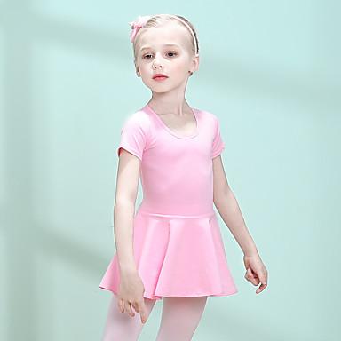 179ce7f044 Gyermek táncruhák / Balett Ruhák Lány Edzés Pamut / Elasztán Kombinált  Rövid ujjú Ruha