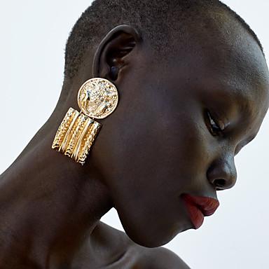 Női Mértani Függők Tartsd fülbevaló Fülbevaló Egyszerű Klasszikus Vintage Európai Ékszerek Arany / Ezüst Kompatibilitás Parti Napi Farsang Utca Munka 1 pár