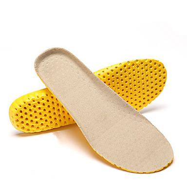 baratos Palmilhas-3 pares Esporte Palmilhas e Calcanhadeiras PEVA Todos os Sapatos Verão Mulheres Preto / Bege