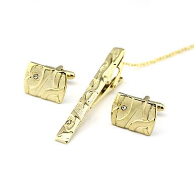 voordelige Herensieraden-Manchetknopen Dasclips Formeel Broche Sieraden Gouden Voor Dagelijks Werk