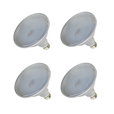 abordables Ampoules électriques-4pcs 15 W Spot LED 1000-1200 lm E26 / E27 75 Perles LED SMD 2835 Imperméable Blanc Chaud Blanc 110-240 V