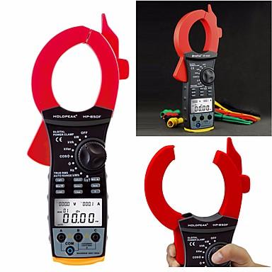 voordelige Test-, meet- & inspectieapparatuur-holdpeak hp-850f usb-interface true rms 9999 telt automatisch bereik multimeter multimeter ac stroomtester 99g gegevensgeheugen