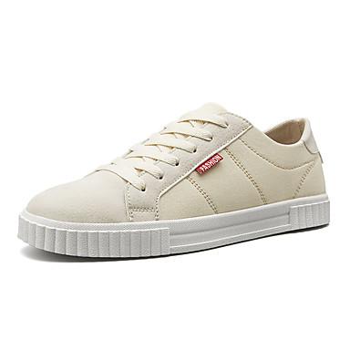 Adattabile Per Uomo Scarpe Comfort Pu (poliuretano) Estate Sneakers Nero - Beige #07335618