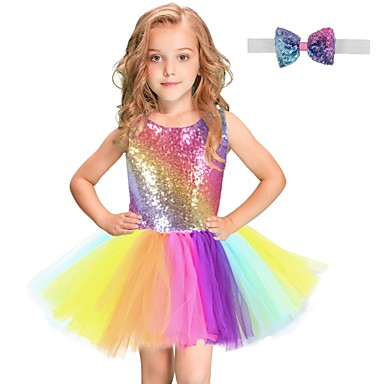 145a98984 Rainbow, Girls' Dresses, Search LightInTheBox