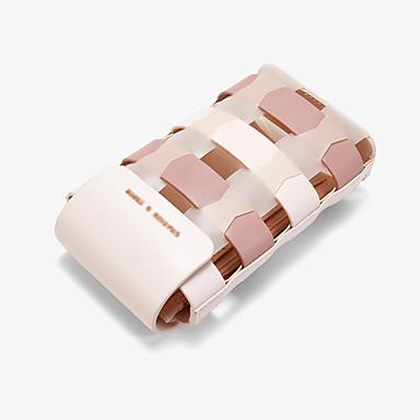 abordables Sacs-Femme Creuse PU / Synthétique Mobile Bag Phone Treillis Vert / Rose Claire / Jaune / Automne hiver
