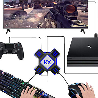 KX USB Game Controller Converter Keyboard Mouse Adapter for Switch