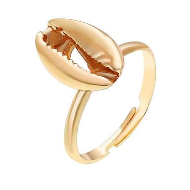 billige Motering-Dame geometriske Justerbar ring Håp Klassisk Motering Smykker Gull / Sølv Til Gave Daglig Gate Festival Justerbar