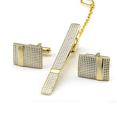 voordelige Herensieraden-Manchetknopen Dasclips Formeel Broche Sieraden Zilver Gouden Voor Dagelijks Werk