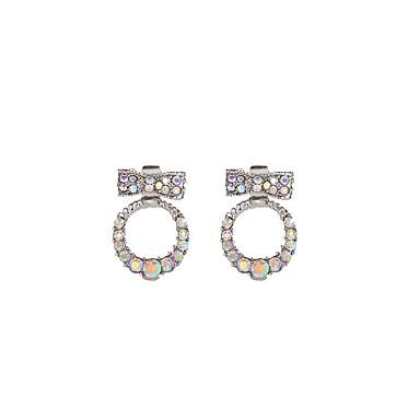 abordables Boucle d'Oreille-Femme Boucles d'oreilles double face Des boucles d'oreilles Bijoux Arc-en-ciel Pour Cadeau Travail 1 paire