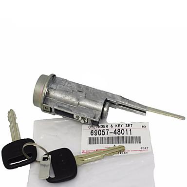 halpa Autohälyttimet-aito toyota avalon camry-virtalukon lukkosylinteri& näppäin 69057-48011