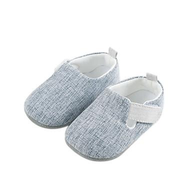 voordelige Babyschoenentjes-Jongens / Meisjes Comfortabel Katoen Platte schoenen Peuter (9m-4ys) Lichtblauw / Licht Roze / Licht Groen Zomer