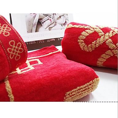 איכות מעולה מגבת רחצה, גיאומטרי כותנה טהורה חדר אמבטיה 1 pcs