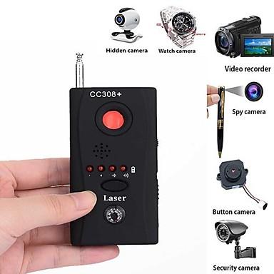 voordelige Test-, meet- & inspectieapparatuur-volledig bereik anti - spion bug detector cc308 mini draadloze camera verborgen signaal gsm device finder privacy beschermen beveiliging